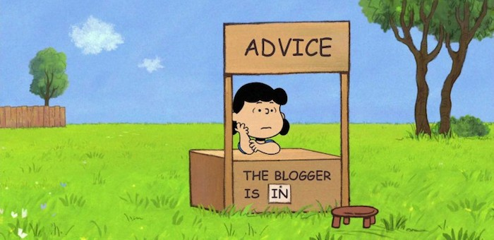 peanuts-advice-blogger